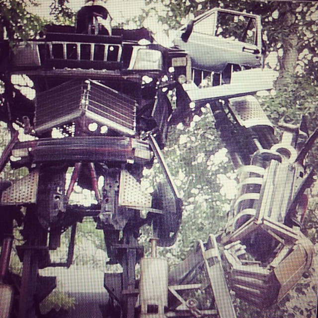 """Transformer in Beijing"" stock image"