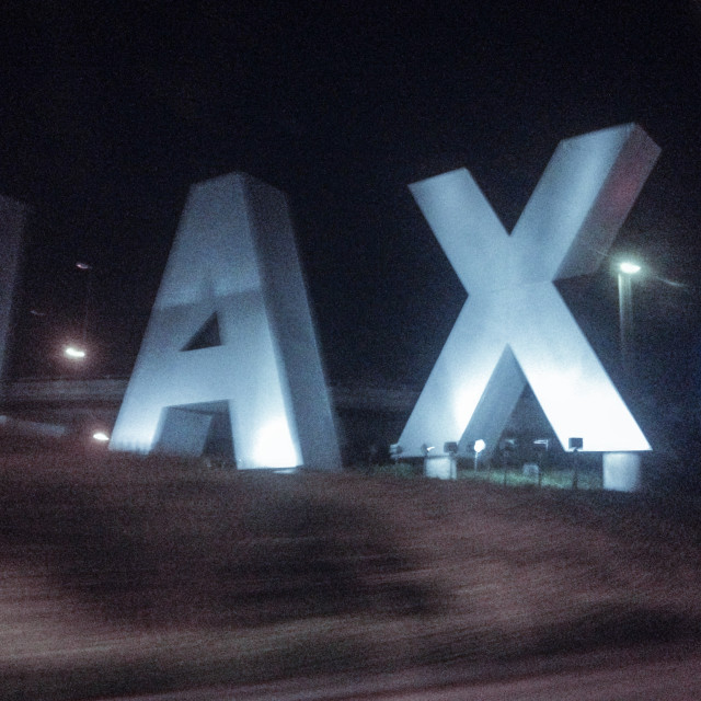 """LAX"" stock image"