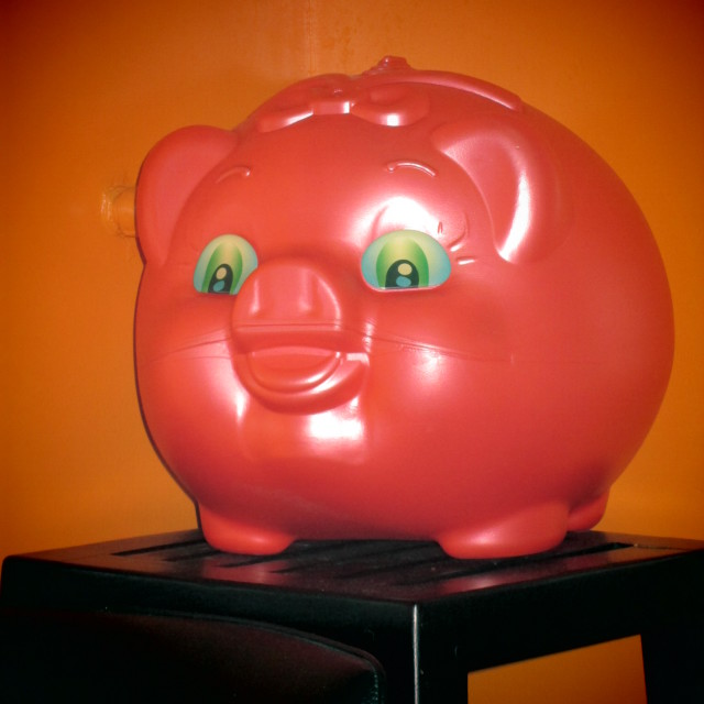 """Piggy Bank"" stock image"