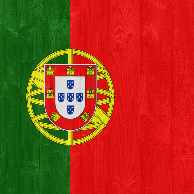 """Portugal flag"" stock image"