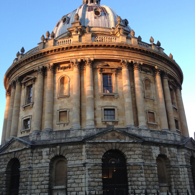 """Radcliffe Camera"" stock image"