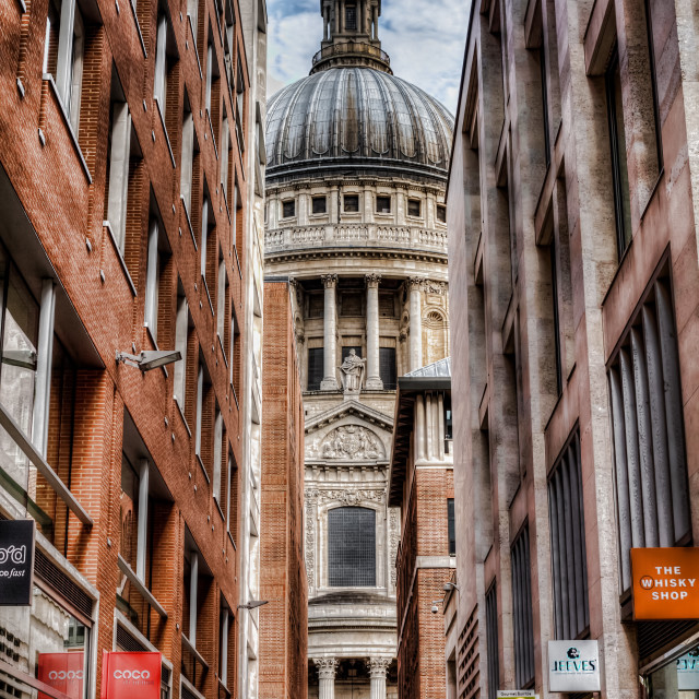 """St Paul's"" stock image"