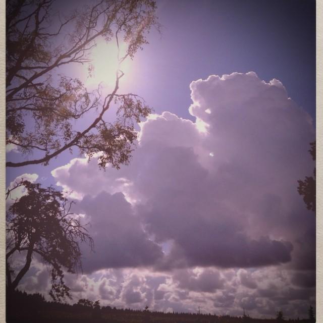 """Cloud burst"" stock image"