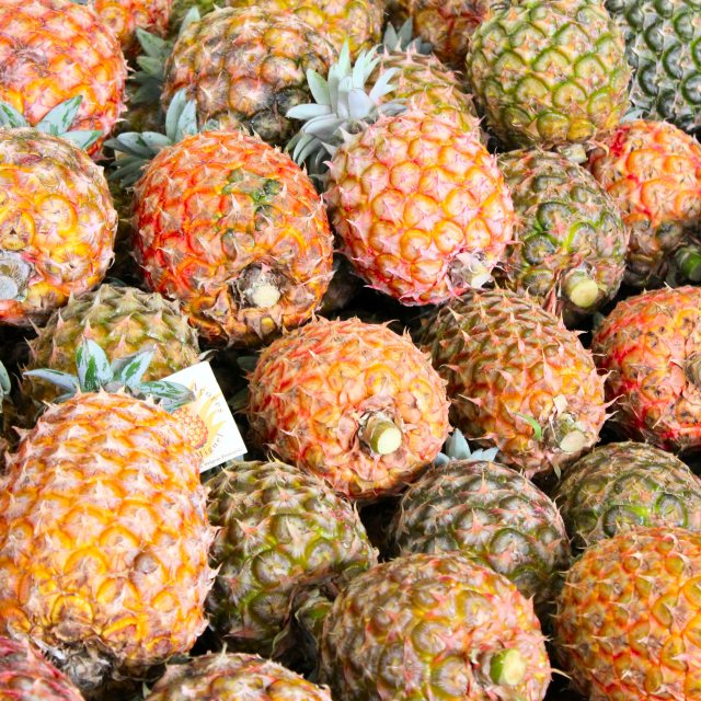"""Pineapples in the Azores"" stock image"