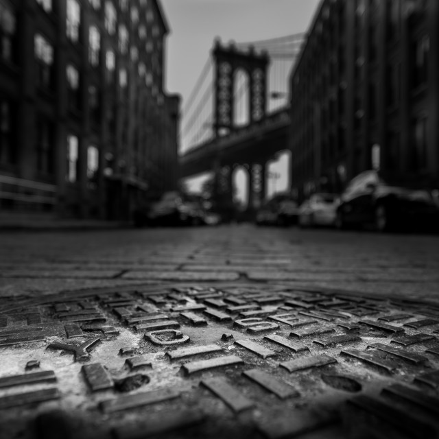 """Downtown Brooklyn"" stock image"