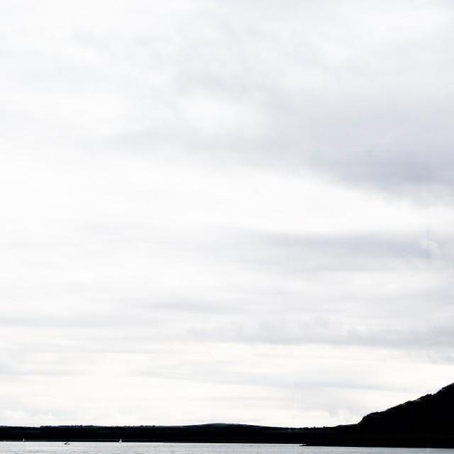 """Sea and sky"" stock image"