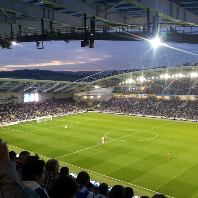 """""""An Evening At The Amex"""" stock image"""