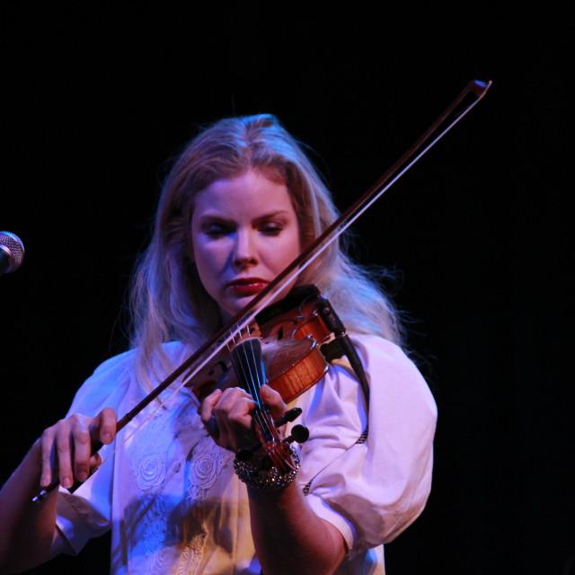 """""""violin girl"""" stock image"""