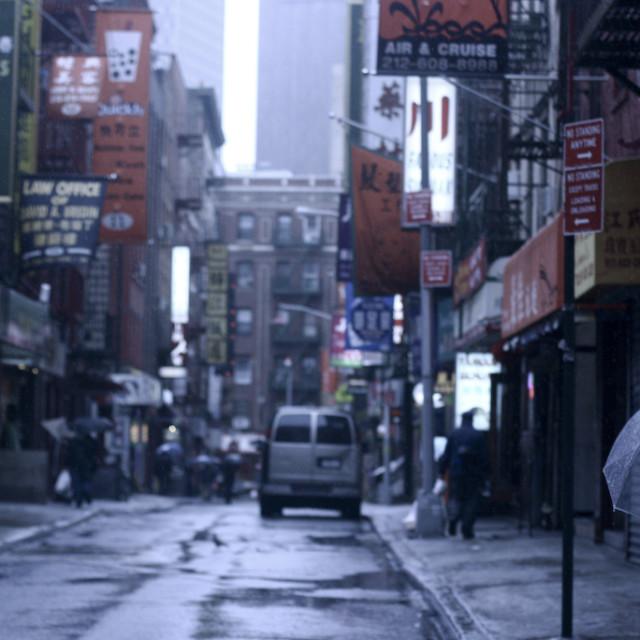 """""""Gotham Chinatown 3"""" stock image"""
