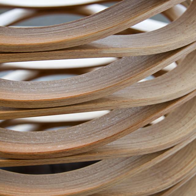 """Waving Wood"" stock image"