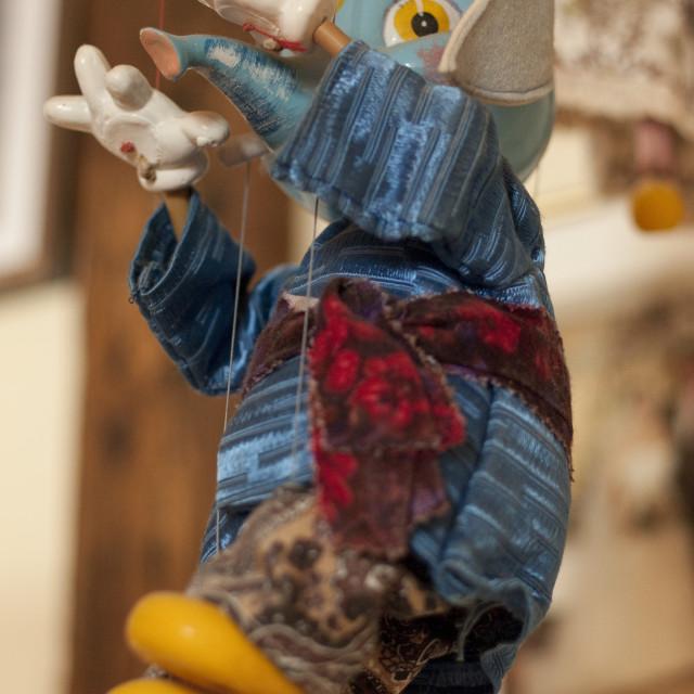 """""""Elephant puppet"""" stock image"""