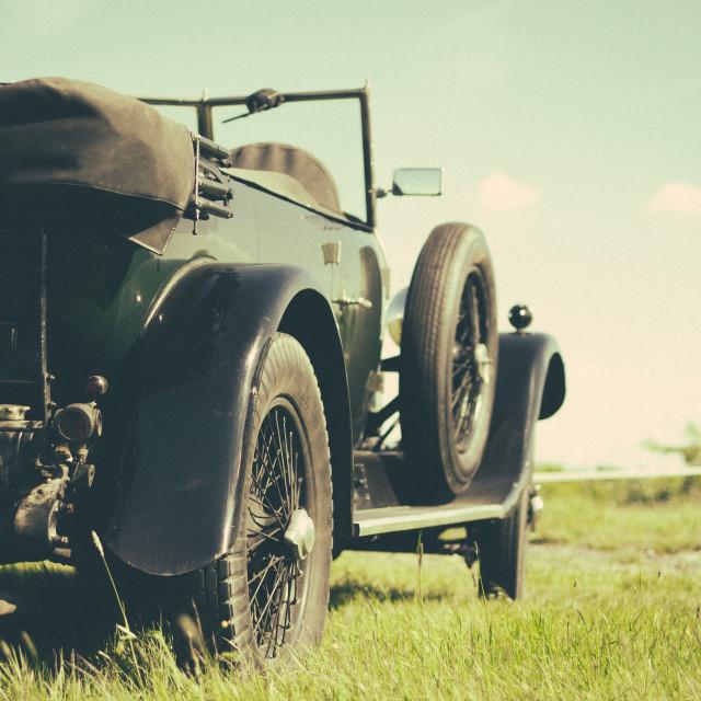 """Beautiful Old Lagonda"" stock image"