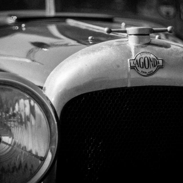 """Beautiful Old Lagonda 2"" stock image"