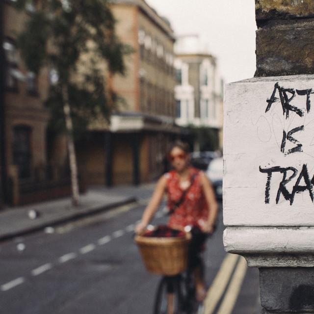 """Street Critique"" stock image"