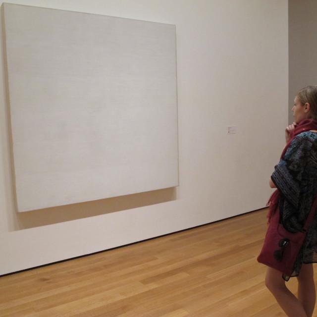"""""""Art for art's sake?"""" stock image"""