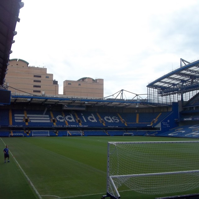 """Chelsea FC Stamford Bridge"" stock image"