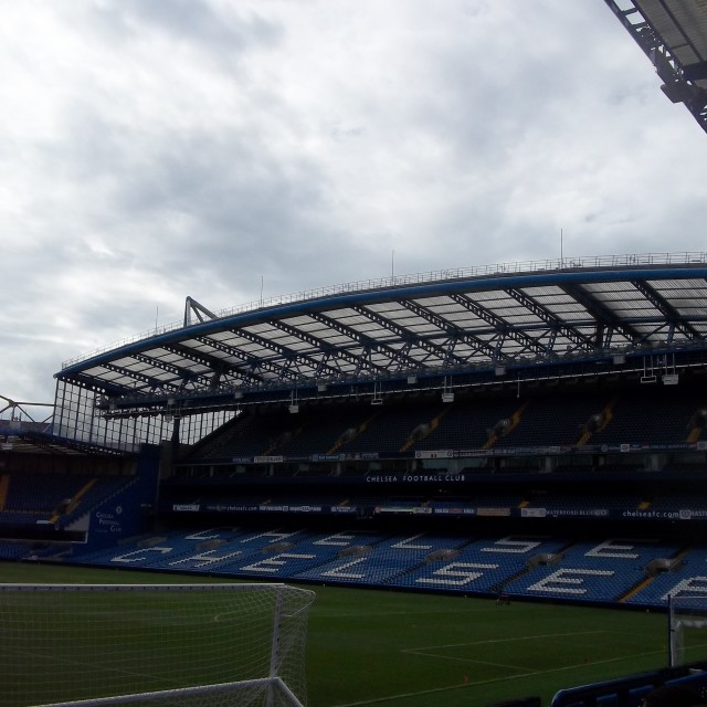 """Chelsea FC, Stamford Bridge"" stock image"