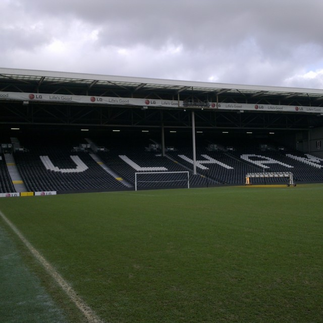"""Fulham FC, Craven Cottage"" stock image"