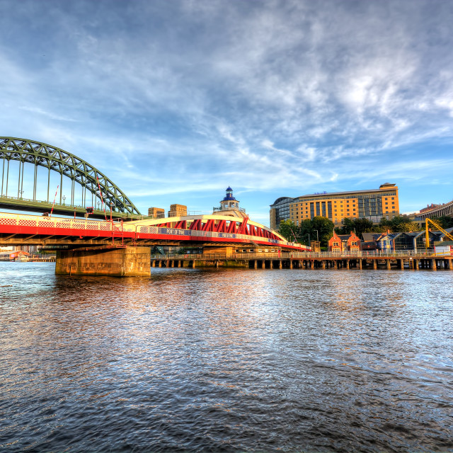 """Tyne, High and Low"" stock image"