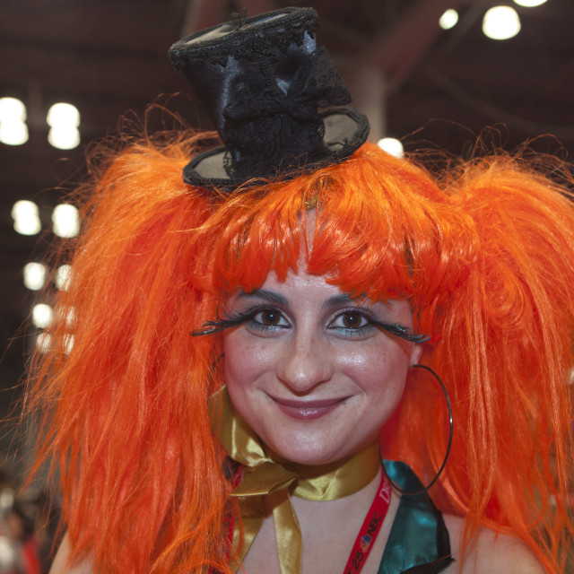 """New York Comic Con 2013"" stock image"