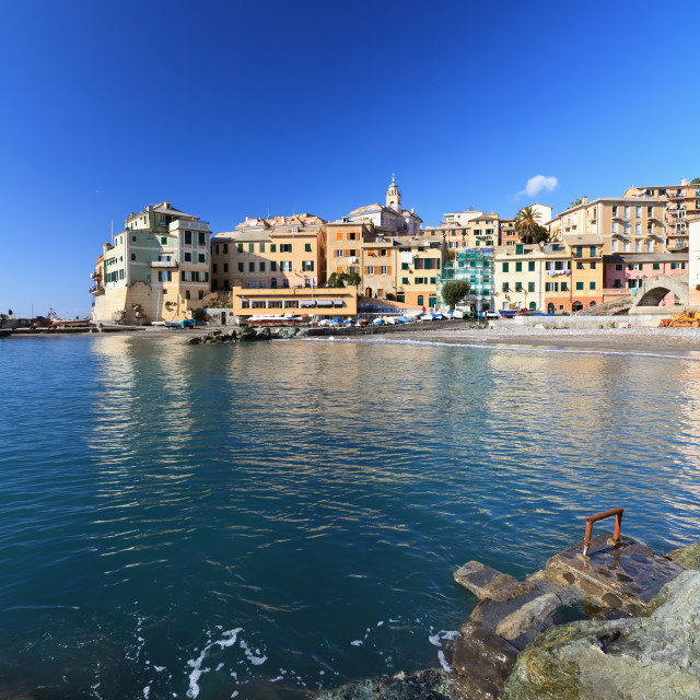 """Bogliasco - vertical composition"" stock image"