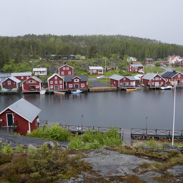 """Little village"" stock image"