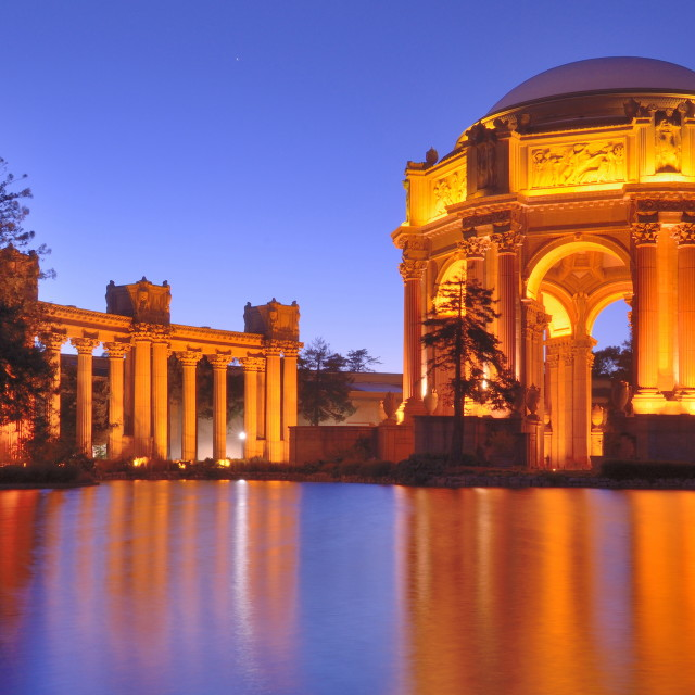"""Palace of Fine Arts"" stock image"