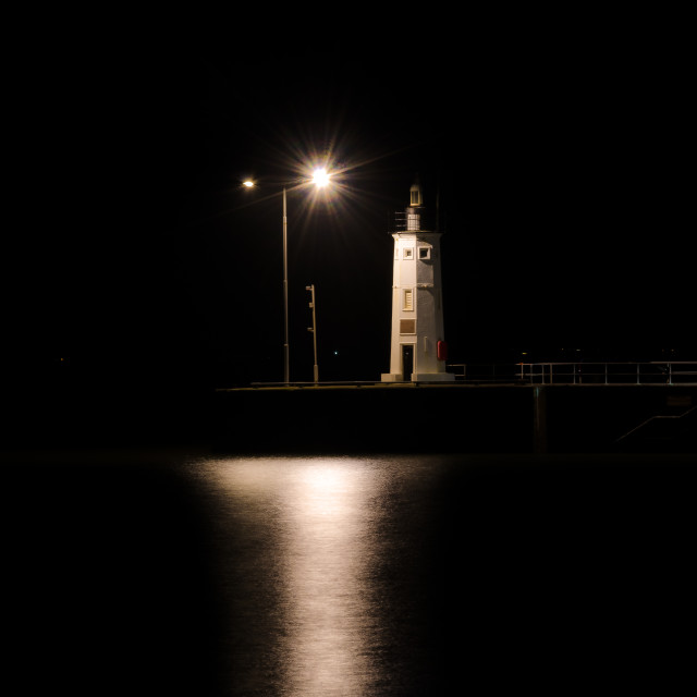 """Quay light photography"" stock image"