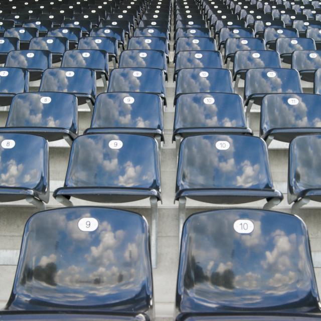 """seats"" stock image"