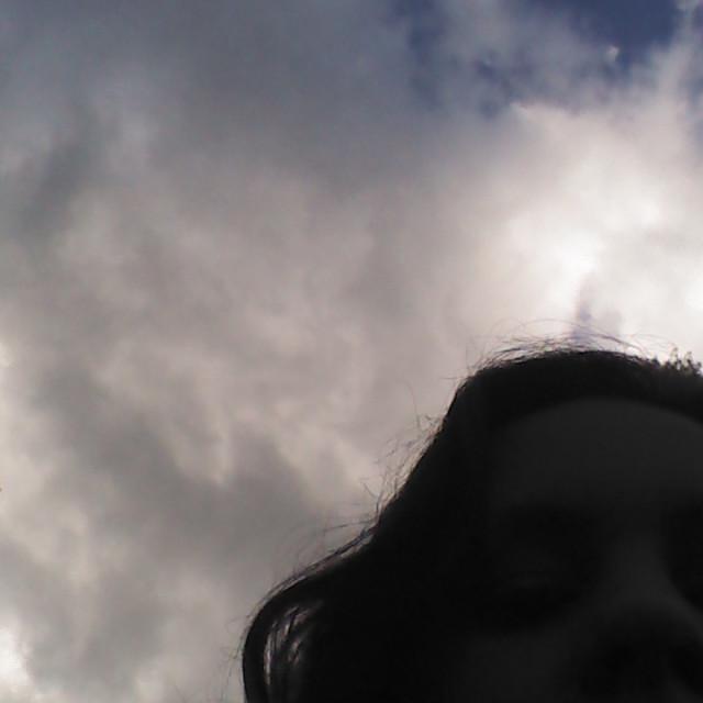 """Sky and Me"" stock image"