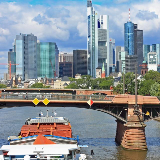 """Frankfurt 3"" stock image"