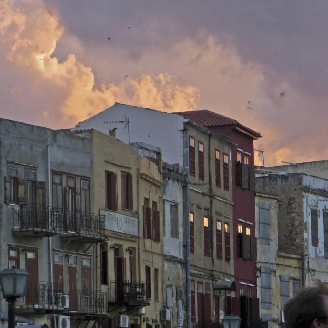 """Chania Town, Crete"" stock image"
