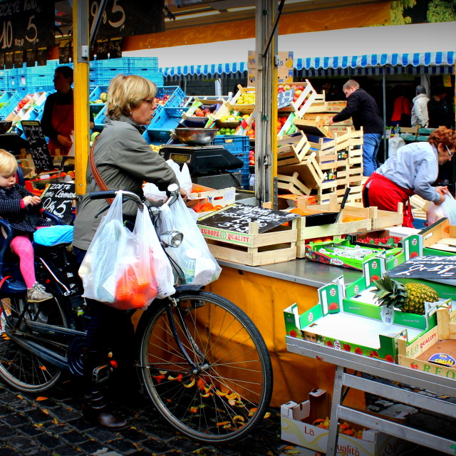 """Bicycle Baby"" stock image"
