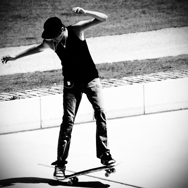 """Skater"" stock image"