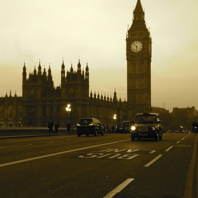 """""""The Houses of Parliament"""" stock image"""