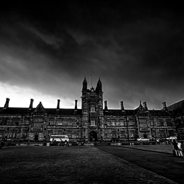 """University of Sydney"" stock image"