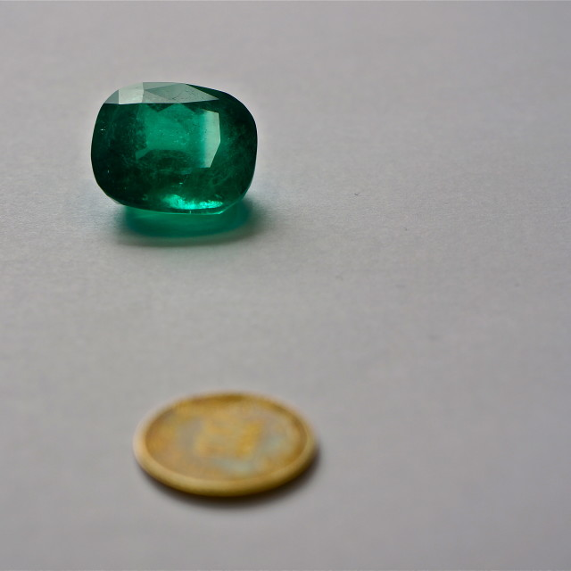 """cut emerald"" stock image"