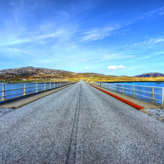 """The Causeway"" stock image"
