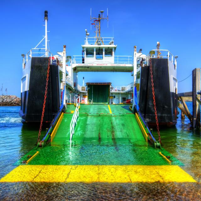 """""""MV Loch Alainn"""" stock image"""