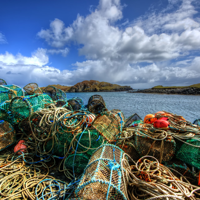 """Rodel, Isle of Harris"" stock image"