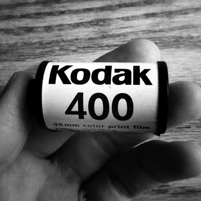 """Kodak Film"" stock image"