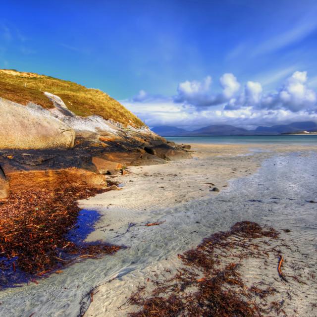 """Horgabost, Isle Of Harris"" stock image"