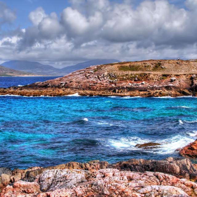 """Borve, Isle of Harris"" stock image"