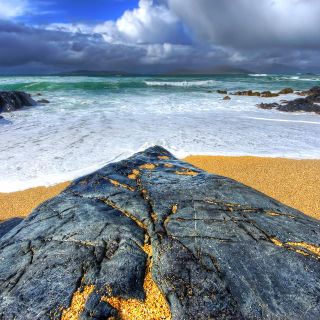 """""""Scarista, Isle of Harris"""" stock image"""