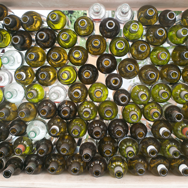 """Wine bottles"" stock image"