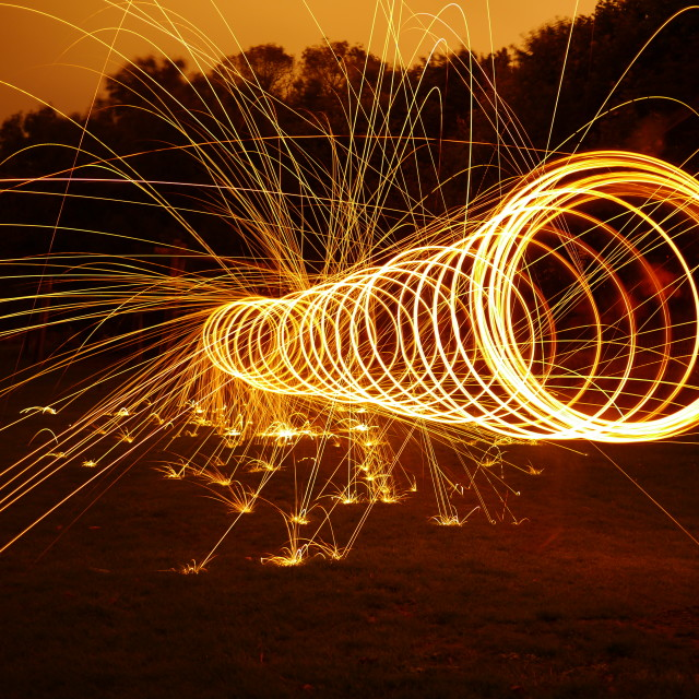 """Sparks"" stock image"