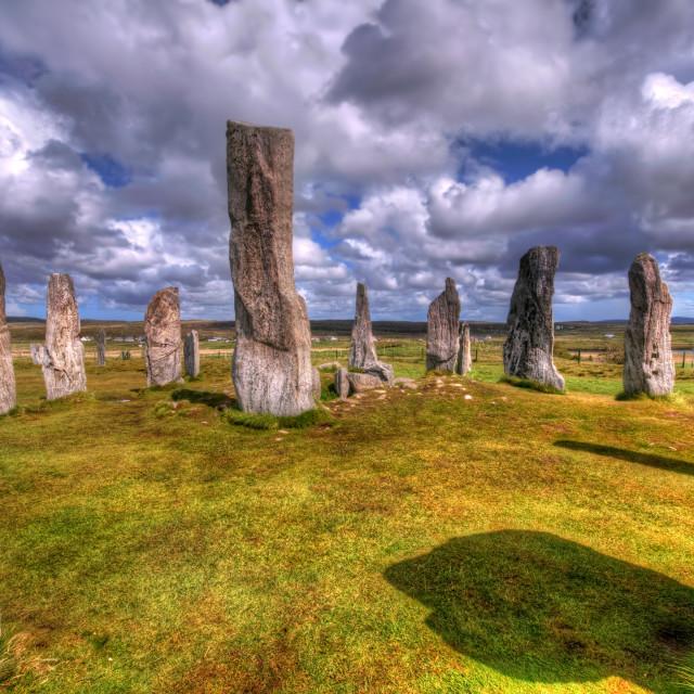 """Callanish Stone Circle"" stock image"