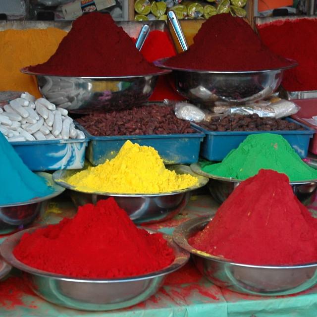 """Mysore dyes"" stock image"