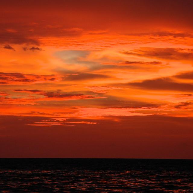 """Thai Sunset"" stock image"