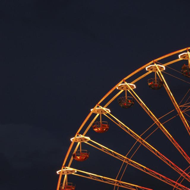 """night wheel"" stock image"
